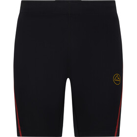 La Sportiva Triumph Tight Shorts Men, black/yellow
